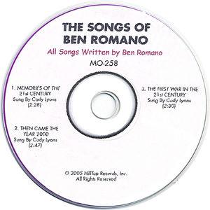 Songs of Ben Romano