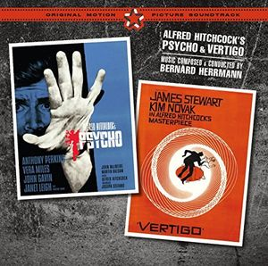 Psycho /  Vertigo (Original Motion Picture Soundtrack) [Import]