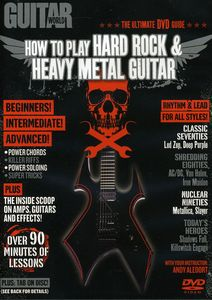 How to Play Hard Rock and Heavy Metal Guitar
