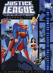Justice League Unlimited: The Complete Second Season
