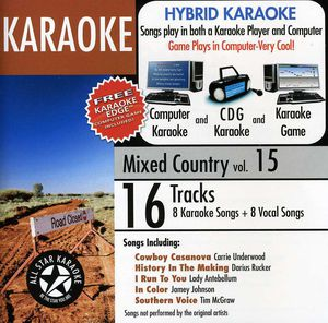 Karaoke: Mixed Country, Vol. 15