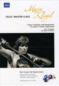 Cello Master Class by Maria Kliegel