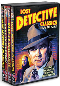 Early TV Detectives Collection
