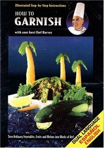 How to Garnish With your host Chef Harvey - Turn Ordinary Vegetables