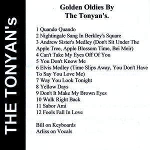 Golden Oldies from the Tonyans