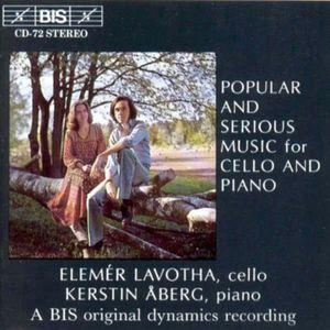 Popular & Serious Music Cello & Piano /  Various
