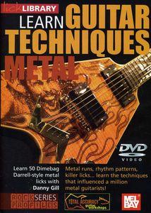 Learn Guitar Techniques: Metal