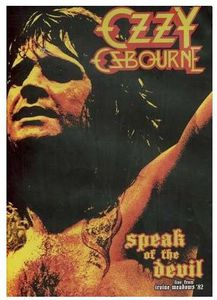 Speak of the Devil [Import]
