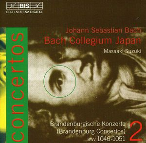 Brandenburg Concertos 1-6 BWV 1046-1051