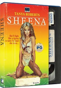 Sheena (Retro VHS Packaging)
