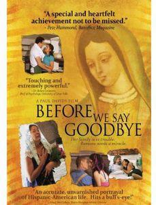 Before We Say Goodbye