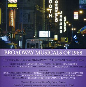 Broadway Musicals Of 1968