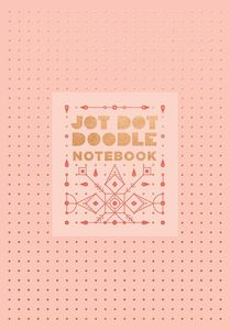 JOT DOT DOODLE NOTEBOOK PINK AND ROSE GOLD