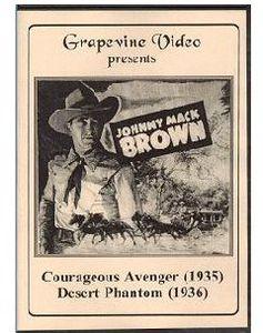 Courageous Avenger (1935) /  Desert Phantom (1936)