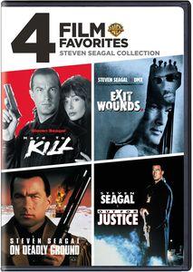 4 Film Favorites: Steven Seagal Collection