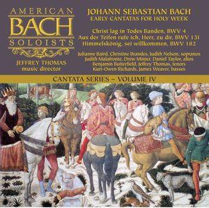 Bach Cantata Series: Early Cantatas for Hol 4