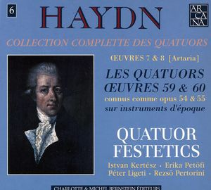 Collection Complete Des Quatuors 6