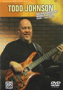 Walking Bass Line Module System: Volume 1: Triad Modules