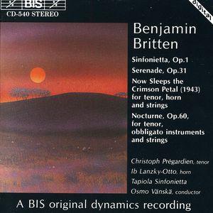 Sinfonietta Opus 1
