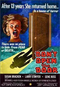 Dont Open the Door