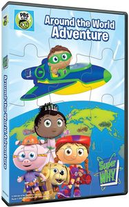 Super Why!: Around the World Adventure + Puzzle