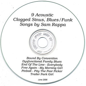 Clogged Sinus Blues/ Funk