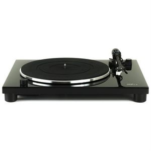 Music Hall MMF1.3 Turntable Phono PreAmp With Mounted Cartridge PianoBlack