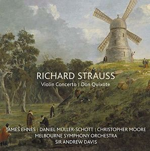 Richard Strauss: Violin Concerto /  Don Quixote