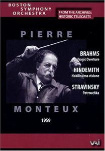 Boston Symphony Orchestra: Historic Telecasts: Pierre Monteux