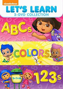 Let's Learn 3 Pack: 123s, ABCs & Colors