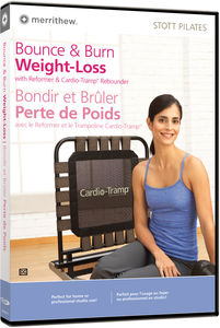 Bounce and Burn Weight Loss W /   Cardio Tramp Rebounder