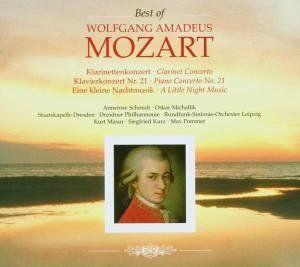 Best of Mozart: Piano Concertos & Clarinet