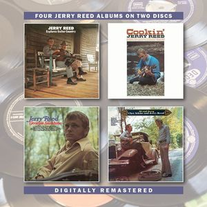 Jerry Reed Explores Guitar Country /  Cookin /  Georgia Sunshine /  Me &Jerry [Import]