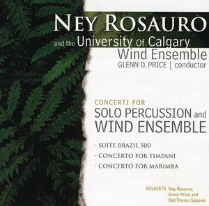 Concerti for Solo Percussion & Wind Ensemble