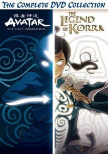 Avatar And Legend Of Korra Complete Series Collection