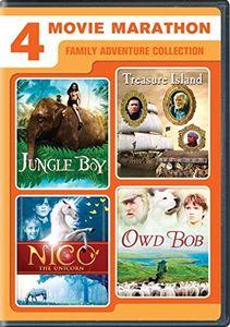 4-Movie Marathon: Family Adventure Collection