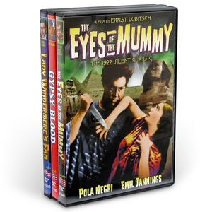 Ernst Lubitsch Silents Collection Lady Windermere's Fan /  The Eyes ofthe Mummy /  Gypsy Blood