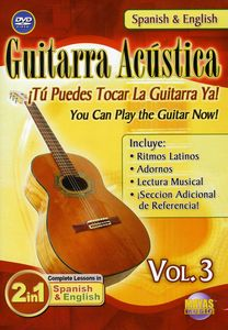 Guitarra Acustica 3: 2 in 1 Bilingual