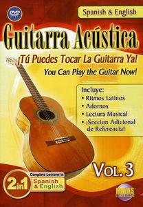 Guitarra Acustica 3: 2 in 1 Bilingual