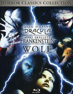 Bram Stoker's Dracula /  Mary Shelley's Frankenstein /  Wolf