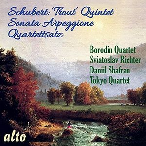 Trout Quintet /  Sonata Arpeggione /  Quartettsatz