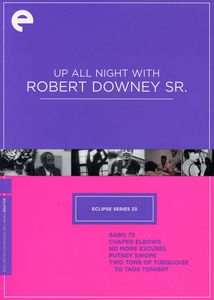 Up All Night With Robert Downey, Sr. (Criterion Collection: Eclipse Series 33)