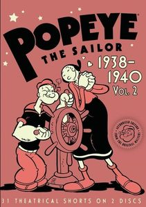 Popeye the Sailor: Volume 2 1938-1940