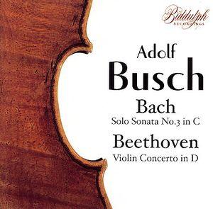 Sonata for Solo Violin No 3 in C BWV1005