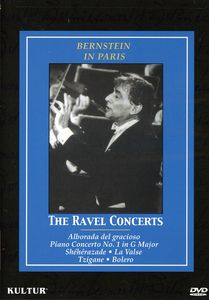 Bernstein in Paris: The Ravel Concerts