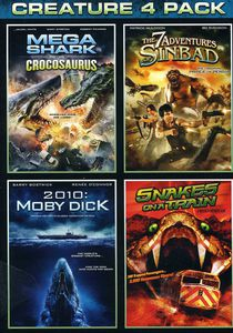 Mega Shark Vs Crocosaurus /  The 7 Adventures of Sinbad /  2010: Moby Dick /  Snakes on a Train