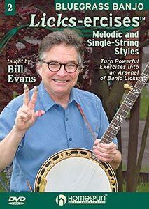 Bluegrass Banjo Licks-Ercises 2