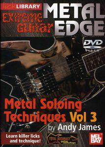 Extreme Guitar Metal Edge: Metal Soloing 3