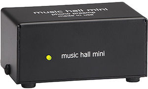 Music Hall Mini Solid State Phono PreAmp For Moving Magnet and MovingCoil Cartridges Black