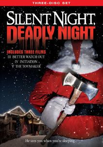 Silent Night Deadly Night Three-Disc Set